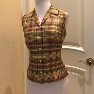 NWOT Ann Taylor Factory store silk blouse